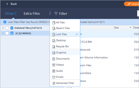 Filter Files