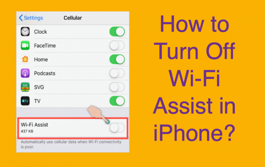 What is Wi-Fi Assist and How to Turn it Off?