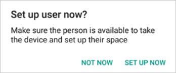 Set Up User