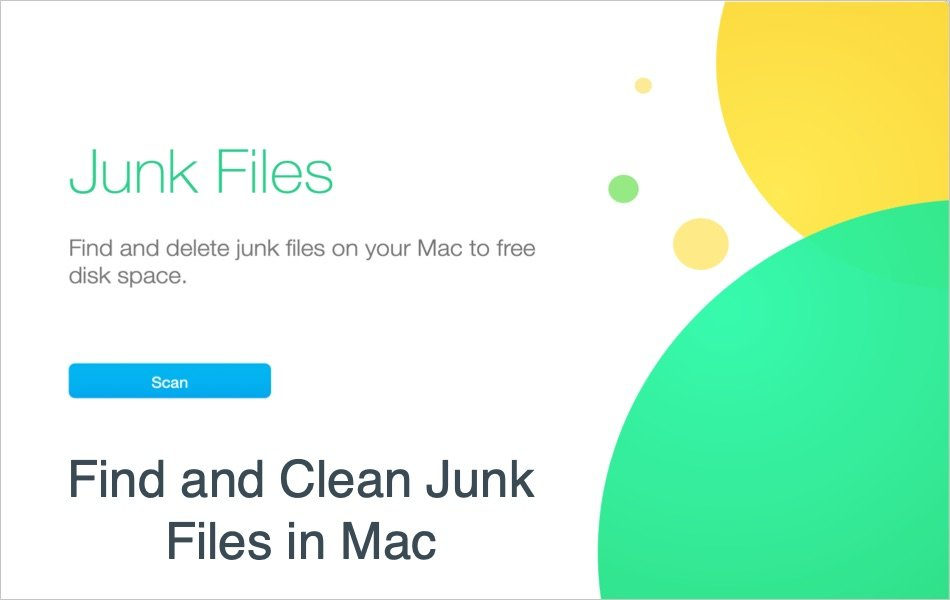 Find and Clean Junk Files in Mac