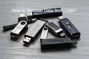How to Recover Data from USB?
