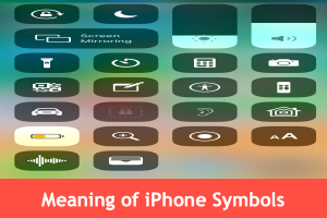 Meaning of iPhone Symbols