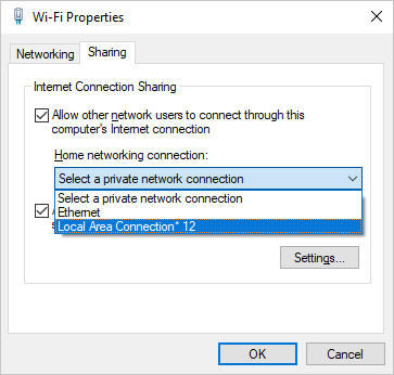 Select a Connection