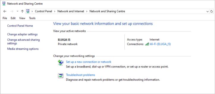 Set Up Network