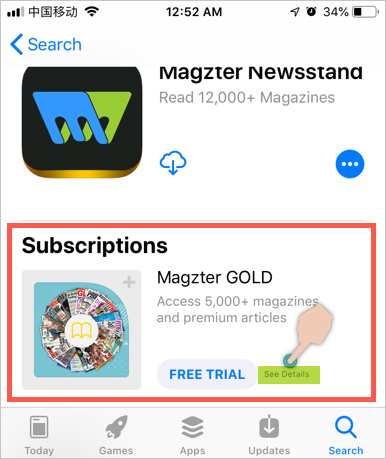 Subscription Based Apps
