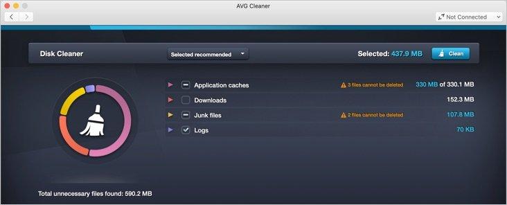 View All Junk, Cache, Log Files in Mac