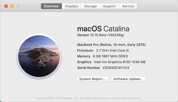 macOS System Overview