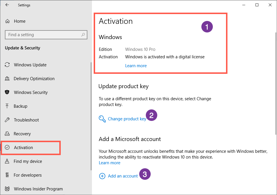 Check Windows Activation