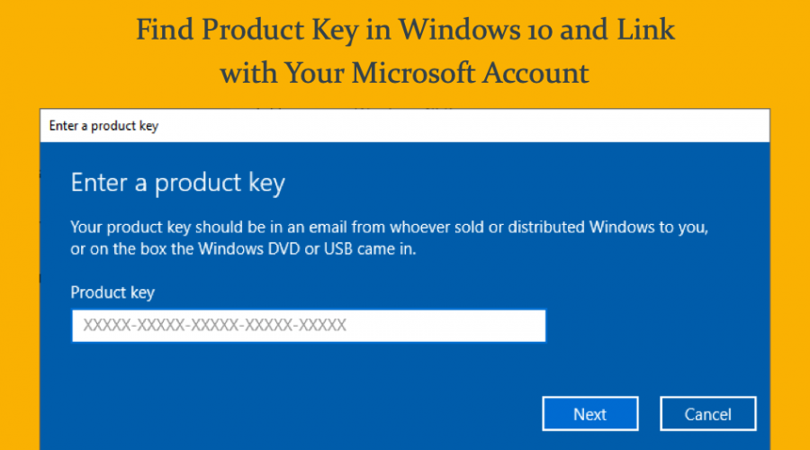 How to Find Windows 10 Product Key and Connect to Microsoft Account?