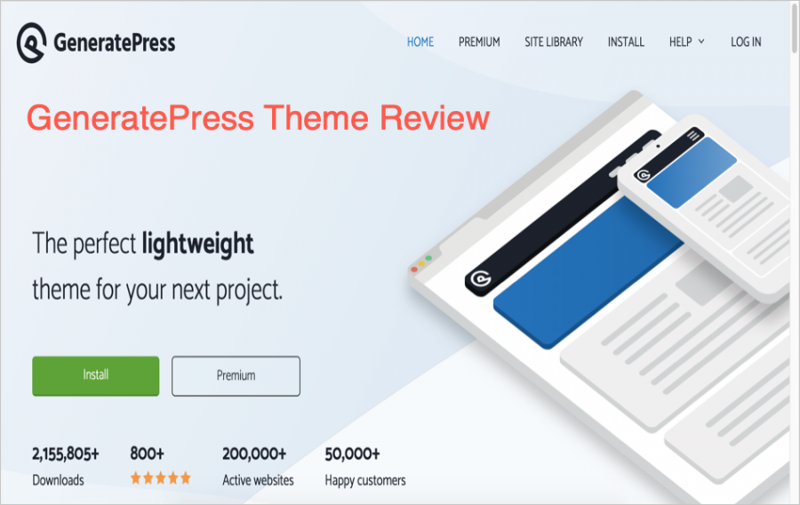GeneratePress WordPress Theme Review