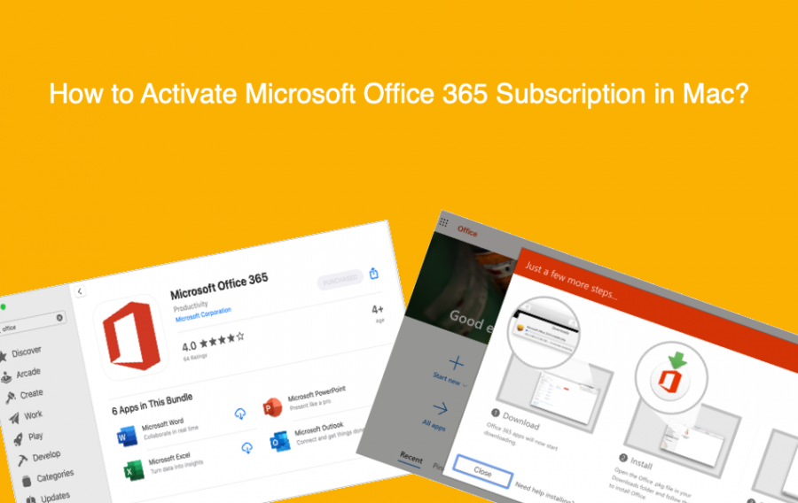 How to Activate Microsoft Office 365 Subscription in Mac?