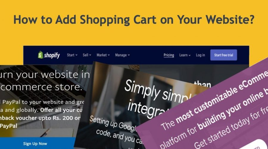 How to Add Shopping Cart to Your Website?