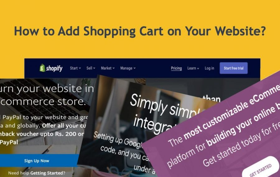 How to Add Shopping Cart on Your Website?