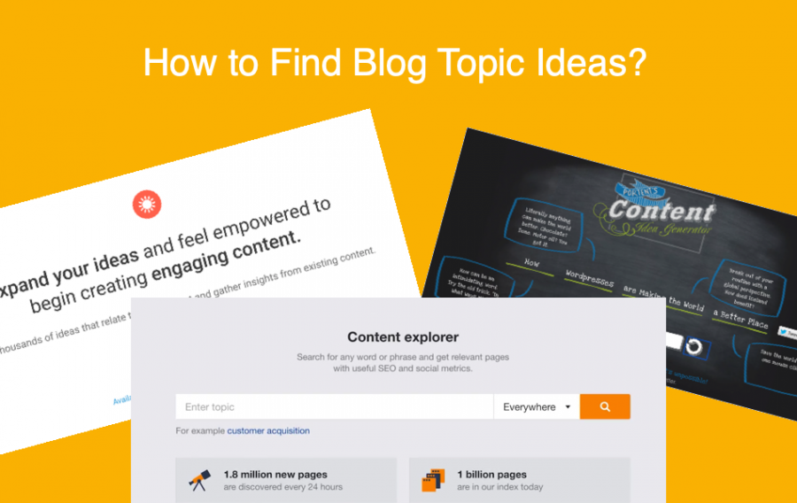 How to Find Blog Topic Ideas?