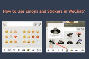 How to Use Emojis and Stickers in WeChat?