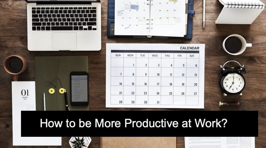 12 Ways to Improve Productivity at Work