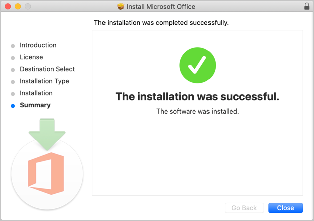 Installation Successfully Completed