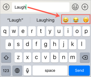 Search Emojis When Typing