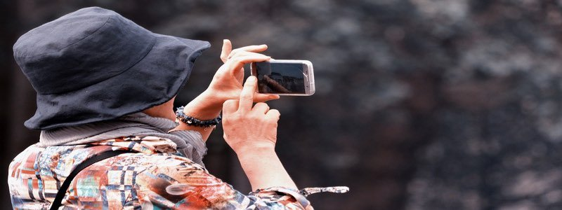 Using Smartphone Camera