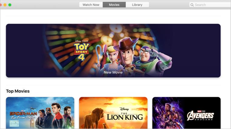 Apple TV Videos App