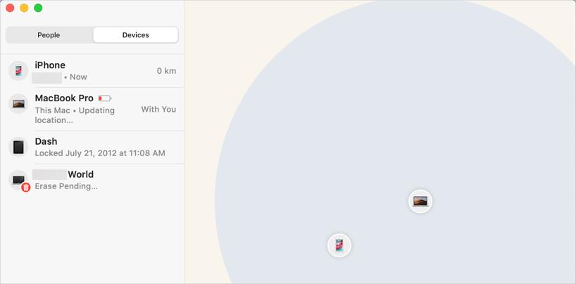 Find My App in macOS Catalina