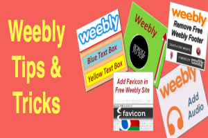 Free Weebly Tips and Tricks