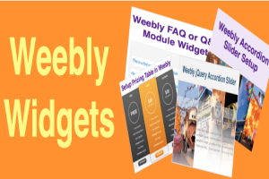 Free Weebly Widgets