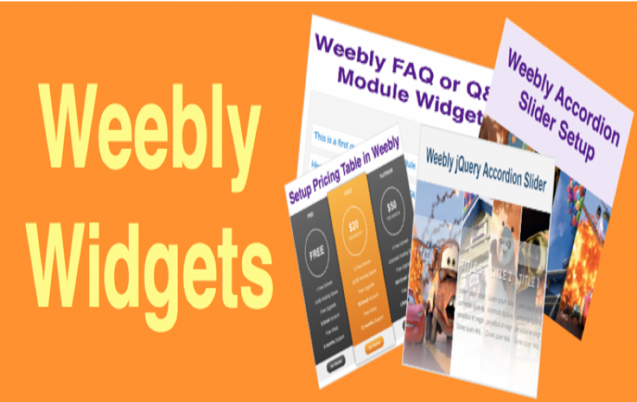 Free Weebly Widgets