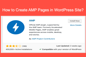 How to Create AMP Pages in WordPress Site