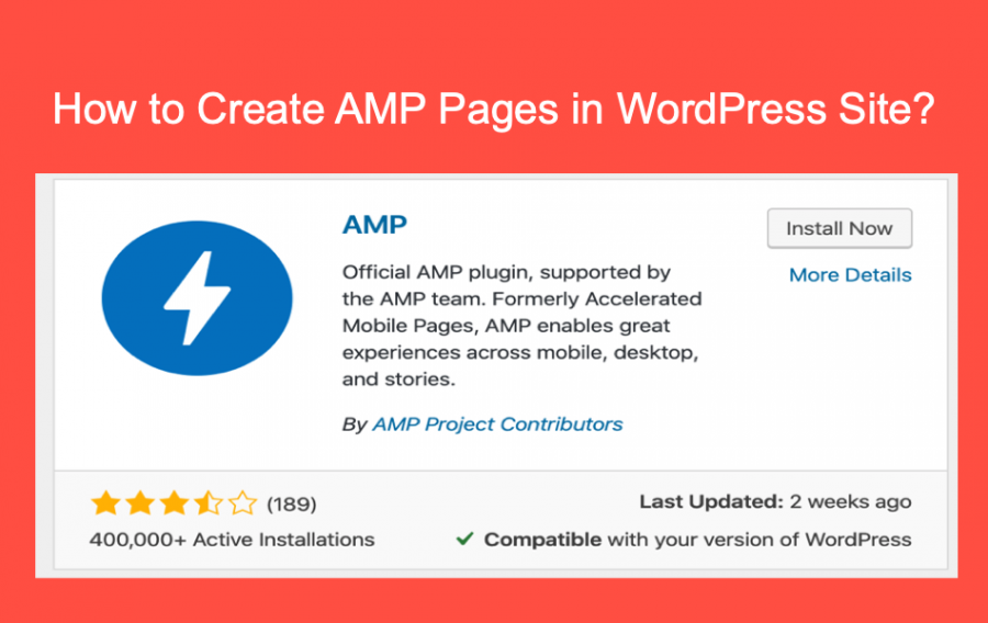 How to Create AMP Pages for WordPress Site?