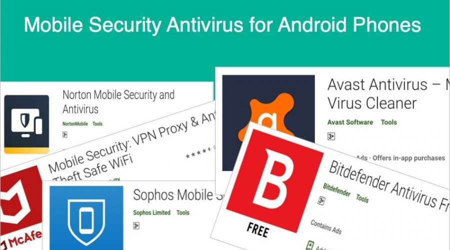 Top 5 Antivirus Apps for Android Smartphones