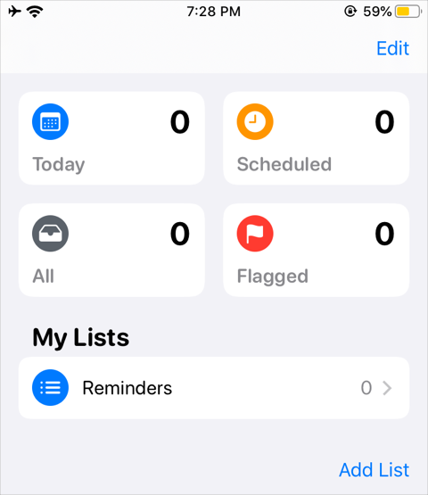 New Reminder App
