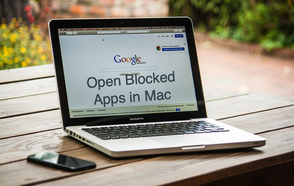 Open Blocked Apps in Mac