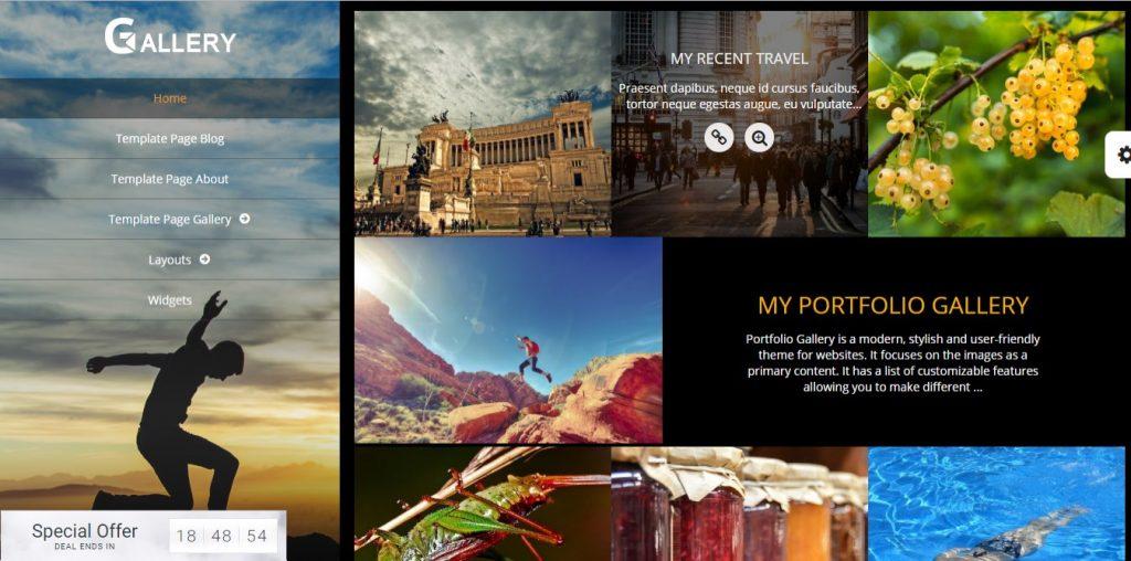 Portfolio Gallery Theme
