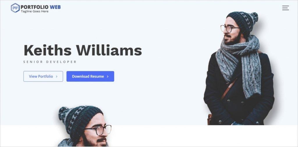 Portfolio Web Theme