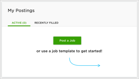 Posting a Job in Upwork