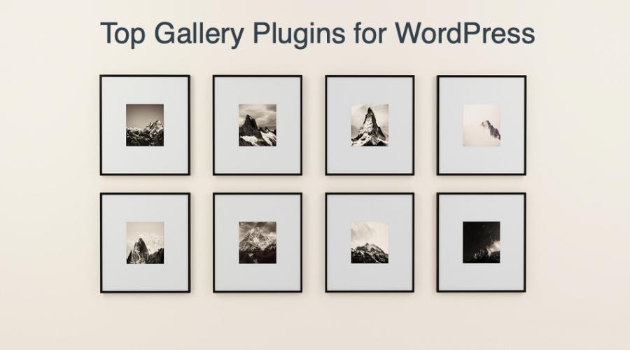Top 6 Free Gallery Plugins for WordPress