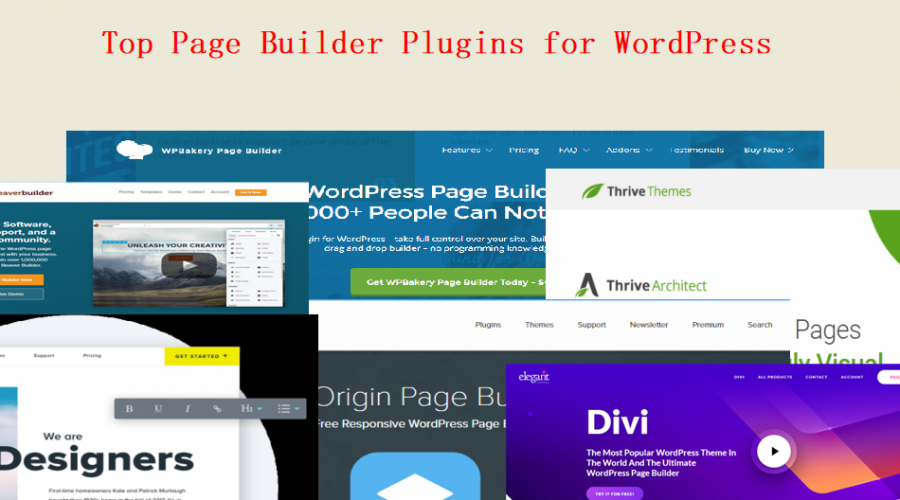Top 7 Page Builder Plugins for WordPress