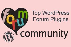 Top WordPress Forum Plugins