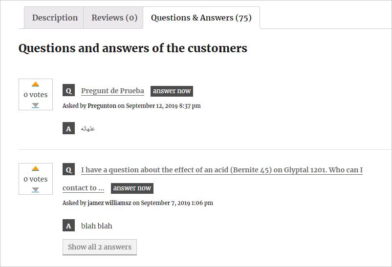 YITH Q&A Plugin for WordPress