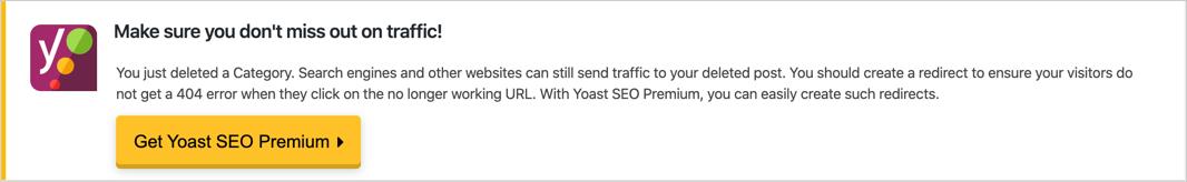 Yoast Advertisement