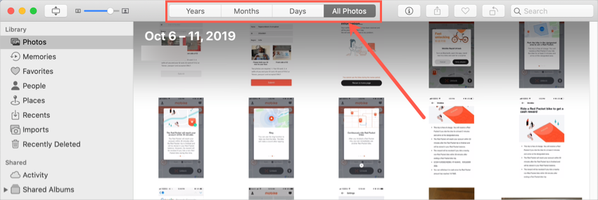 macOS Photos App