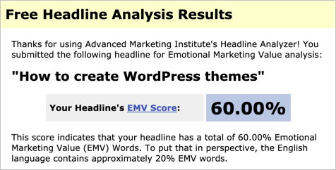 EMV Score