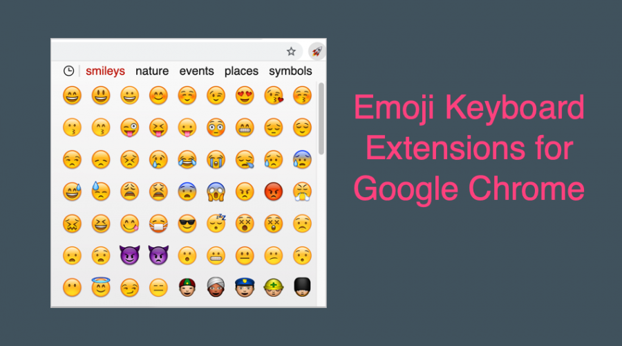 Top 3 Emoji Keyboard Extensions for Google Chrome