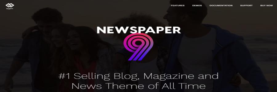 Тема журнала NewsPaper