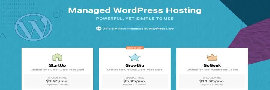 SiteGround WordPress Shared Hosting