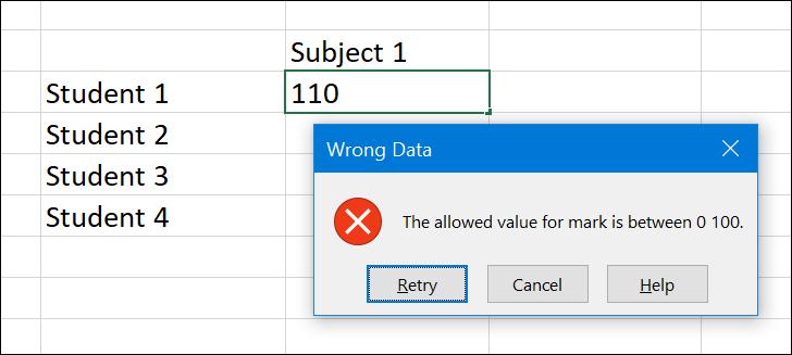 Stop Error Alert