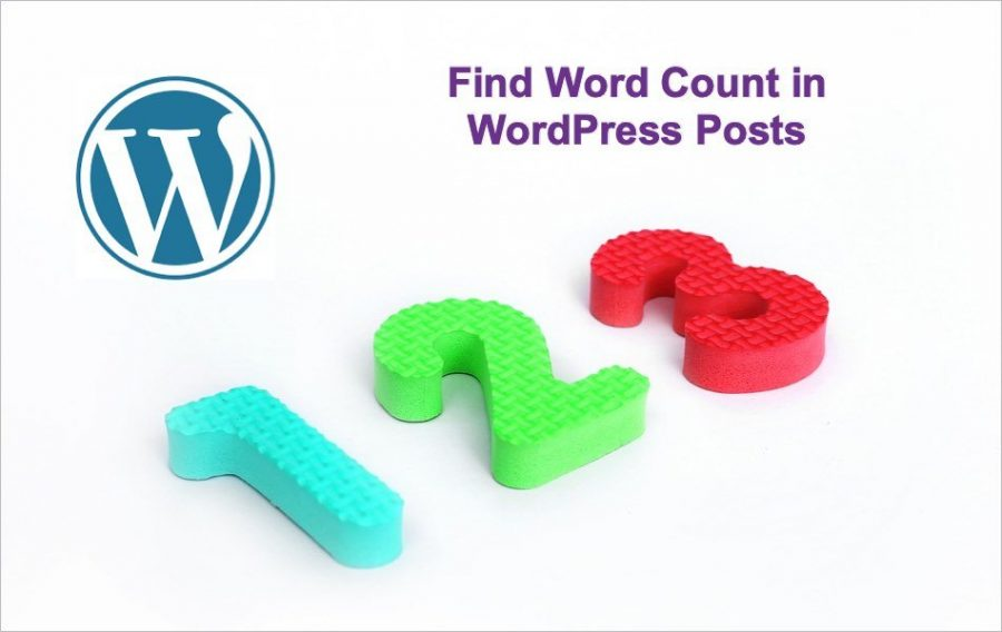 How to Check Word Count in WordPress Posts?