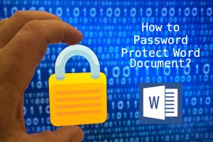 Password Protect Word Document