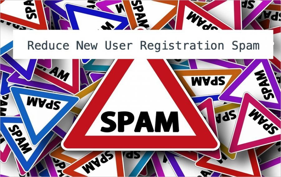 Reduce New User Registration Spam in phpBB Forum